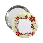 vector-silk-flower-design-card-02-by-dragonart1 2.25  Handbag Mirror