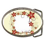 vector-silk-flower-design-card-02-by-dragonart1 Belt Buckle