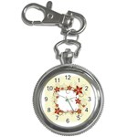 vector-silk-flower-design-card-02-by-dragonart1 Key Chain Watch