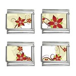 vector-silk-flower-design-card-02-by-dragonart1 9mm Italian Charm (4 pack)