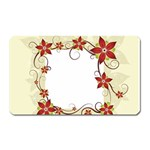 vector-silk-flower-design-card-02-by-dragonart1 Magnet (Rectangular)