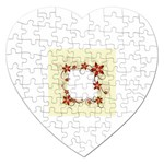 vector-silk-flower-design-card-02-by-dragonart1 Jigsaw Puzzle (Heart)