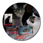 CATS - Collage Round Mousepad