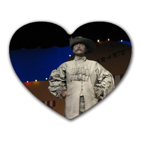 Nessa By Angelika Link Jaehn   Heart Mousepad   Wlyqg7294a73   Www Artscow Com Front