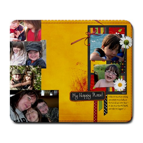 By Cate Sforza   Collage Mousepad   Llxtf4wyqg03   Www Artscow Com 9.25 x7.75 Mousepad - 1
