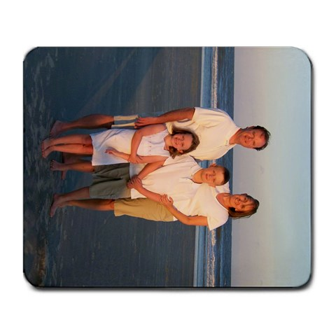 Beach Mousepad By Lisa Wright Fuqua   Large Mousepad   98a1zgyjqktp   Www Artscow Com Front