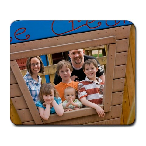 Family Mouse Pad By Brandy Garrett   Large Mousepad   N2ve9esm6wfg   Www Artscow Com Front
