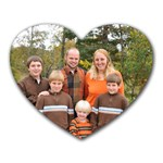 Family Mouse Pad - Heart Mousepad