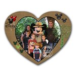 Mickey mousepad - Heart Mousepad