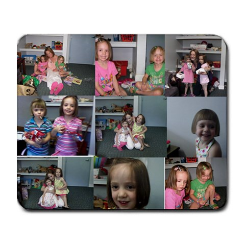 Girls Mousepad 2010 By Amy Dendy   Collage Mousepad   Pxbjf9pzgidt   Www Artscow Com 9.25 x7.75 Mousepad - 1