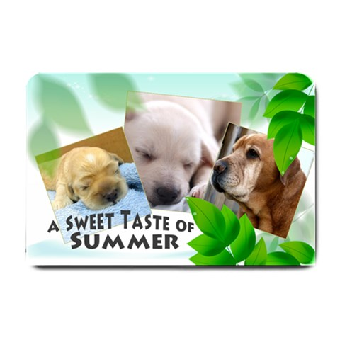 Summer Doormet By Wood Johnson   Small Doormat   Ilwya29bsyyu   Www Artscow Com 24 x16 Door Mat - 1
