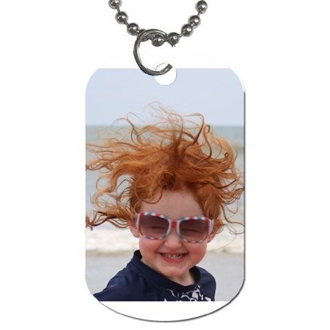By Amanda Strickhouser   Dog Tag (one Side)   Zzeclhnd89ct   Www Artscow Com Front