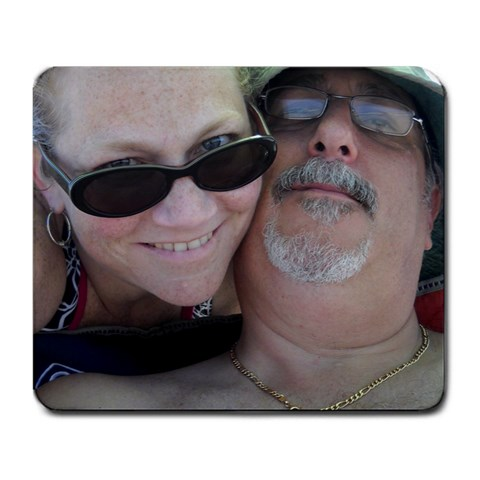 Beach Day   July 2010 By Heidi Hutson Vain   Large Mousepad   Jnposfde5eus   Www Artscow Com Front