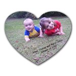 Ry and Alexis - Heart Mousepad