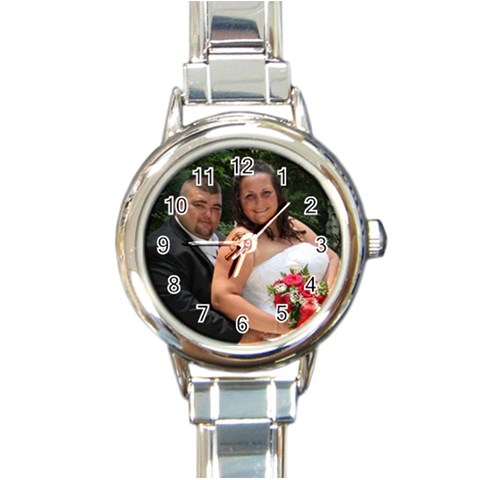 Bubbers Watch By Dominique   Round Italian Charm Watch   1z6f5bl4pgzu   Www Artscow Com Front