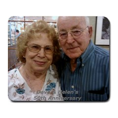 Mom And Dave By Linda Larson   Collage Mousepad   U6vjqr4qn4ds   Www Artscow Com 9.25 x7.75  Mousepad - 2