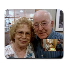 Mom And Dave By Linda Larson   Collage Mousepad   U6vjqr4qn4ds   Www Artscow Com 9.25 x7.75  Mousepad - 4