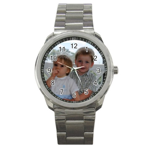 Mark By Judy Anderson   Sport Metal Watch   5vgvlaz72d0m   Www Artscow Com Front