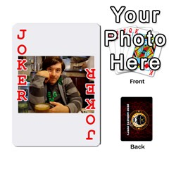 Dwp Cards New By Brent   Playing Cards 54 Designs   4jtboq0jxa27   Www Artscow Com Front - Joker2