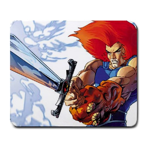 Thundercats Mouse Pad By Ashwin Hurlall   Large Mousepad   Cdzoq1ee3ln5   Www Artscow Com Front
