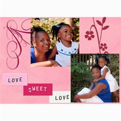 Denise And Abree By Tambra   5  X 7  Photo Cards   K7rzk8mufry4   Www Artscow Com 7 x5 Photo Card - 8
