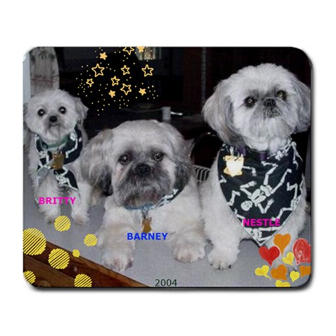 Mousepad By Joan Grover   Large Mousepad   D61k9mgk897g   Www Artscow Com Front