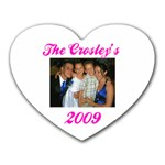 crosley - Heart Mousepad
