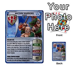 Heroscape 02 By Joel Dela Cruz   Multi Purpose Cards (rectangle)   65cpb84c0k33   Www Artscow Com Front 8
