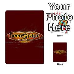 Heroscape 03 By Joel Dela Cruz   Multi Purpose Cards (rectangle)   Zw0w0h7yuqs6   Www Artscow Com Back 54
