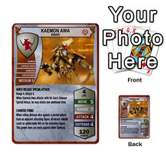Heroscape 03 By Joel Dela Cruz   Multi Purpose Cards (rectangle)   Zw0w0h7yuqs6   Www Artscow Com Front 2