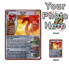 Heroscape 03 By Joel Dela Cruz   Multi Purpose Cards (rectangle)   Zw0w0h7yuqs6   Www Artscow Com Front 20