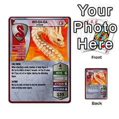 Heroscape 03 By Joel Dela Cruz   Multi Purpose Cards (rectangle)   Zw0w0h7yuqs6   Www Artscow Com Front 21