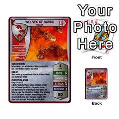 Heroscape 03 By Joel Dela Cruz   Multi Purpose Cards (rectangle)   Zw0w0h7yuqs6   Www Artscow Com Front 24