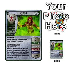 Heroscape 03 By Joel Dela Cruz   Multi Purpose Cards (rectangle)   Zw0w0h7yuqs6   Www Artscow Com Front 28