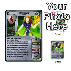Heroscape 03 By Joel Dela Cruz   Multi Purpose Cards (rectangle)   Zw0w0h7yuqs6   Www Artscow Com Front 29