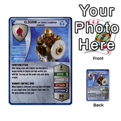 Heroscape 03 By Joel Dela Cruz   Multi Purpose Cards (rectangle)   Zw0w0h7yuqs6   Www Artscow Com Front 4