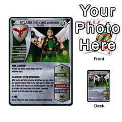 Heroscape 03 By Joel Dela Cruz   Multi Purpose Cards (rectangle)   Zw0w0h7yuqs6   Www Artscow Com Front 42