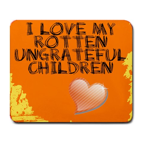 Rotten Ungrateful Children By Kimberlee Price   Collage Mousepad   7pdqpmi6g7zw   Www Artscow Com 9.25 x7.75 Mousepad - 1