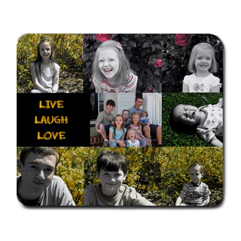 Mousepad By Amy Cothran Morrow   Collage Mousepad   Ujbo71xyalf5   Www Artscow Com 9.25 x7.75  Mousepad - 1