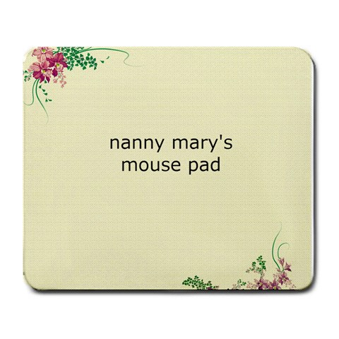 Nannt Mouse Pad Free By Mary Brazezicke   Large Mousepad   Ty7n2k3kr6i0   Www Artscow Com Front