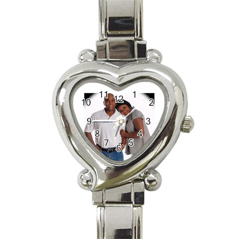 Partnership Watch By Yolanda Simmons   Heart Italian Charm Watch   Lx9jhdhzwfy1   Www Artscow Com Front