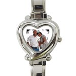 Partnership Watch - Heart Italian Charm Watch