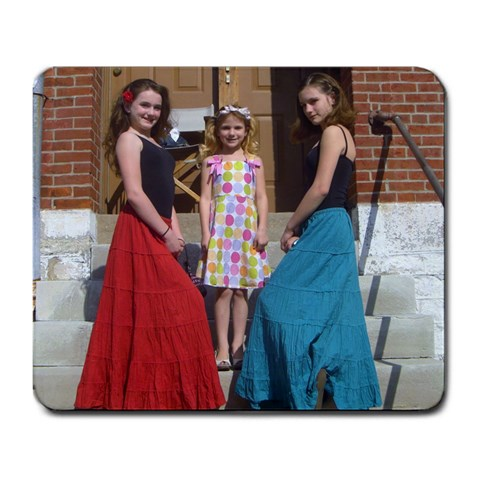 The Girlies! By Cassidae Pfeiffer   Large Mousepad   Lx060lvhd01f   Www Artscow Com Front