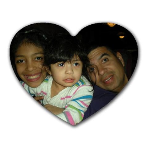 Hearts By Susana Guzman   Heart Mousepad   Q3pdqzqoam5g   Www Artscow Com Front