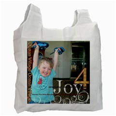 Jump4joy/cherish By Catvinnat   Recycle Bag (two Side)   4yg00g13eaoq   Www Artscow Com Front