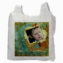 Jump4joy/cherish By Catvinnat   Recycle Bag (two Side)   4yg00g13eaoq   Www Artscow Com Back