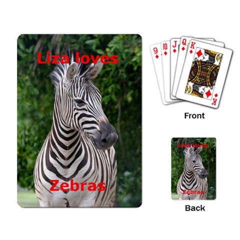 Lizacards By Cameron Wadrop   Playing Cards Single Design   1f77n2lqcvv5   Www Artscow Com Back