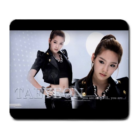 Taeyeon Rdr By Kevin Chen   Large Mousepad   M314fs589v54   Www Artscow Com Front