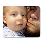 Jackson and Daddy - Collage Mousepad