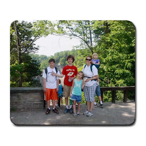 Family  By Sally Beach Papciak   Large Mousepad   Tq6tqg1wvowq   Www Artscow Com Front